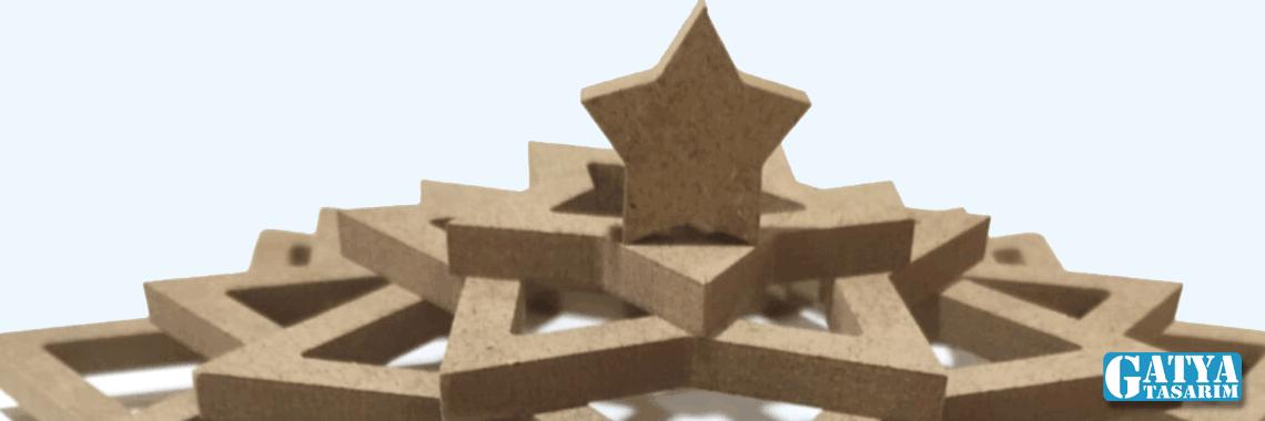 Makrome Örgü İçin Yıldız Kasnak