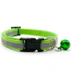 Reflektörlü Kedi Tasması Yeşil