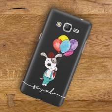 Uçan Balonlu Köpek Telefon Kılıfı