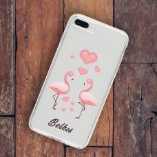 Aşık Flamingolar Telefon Kılıfı