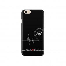 Aşıkların Kalp Grafisi Telefon Kılıfı